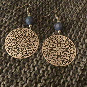 Silver Trewhiddle style Earrings